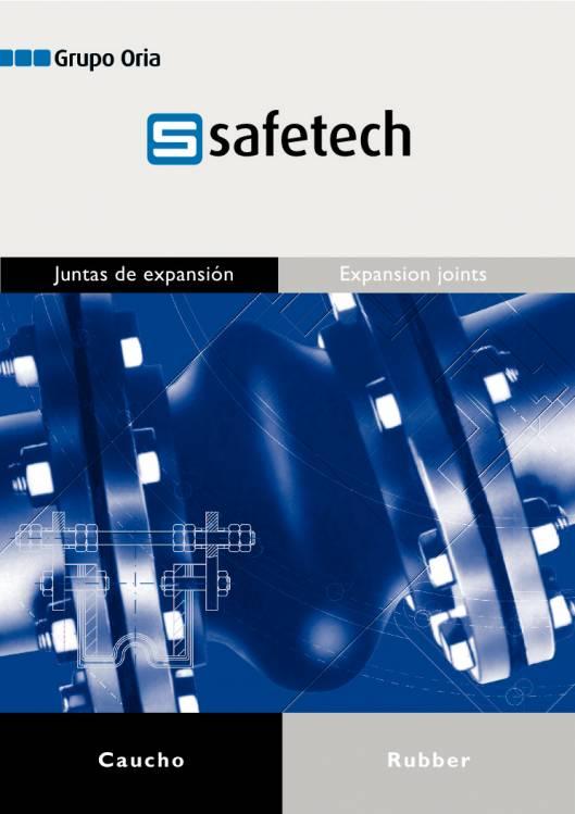 Catálogo SAFETECH Juntas de expansión 1