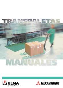 Catálogo de transpaletas manuales MITSUBISHI
