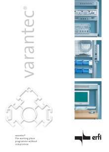 Catálogo VARANTEC Bancos de trabajo