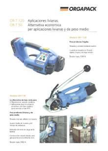 COMOSA STRAPP OR T 120. Flejadora.