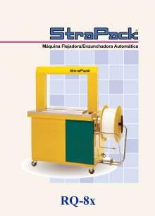 COMOSA STRAPP RQ-8X. Flejadora automática.