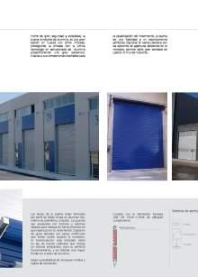 Enalflex.Puerta enrollable de aluminio