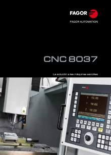 FAGOR CNC 8037. Control numérico CNC
