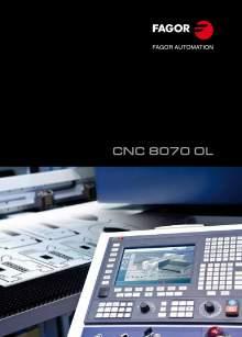 FAGOR CNC 8070 OL. Control numérico CNC