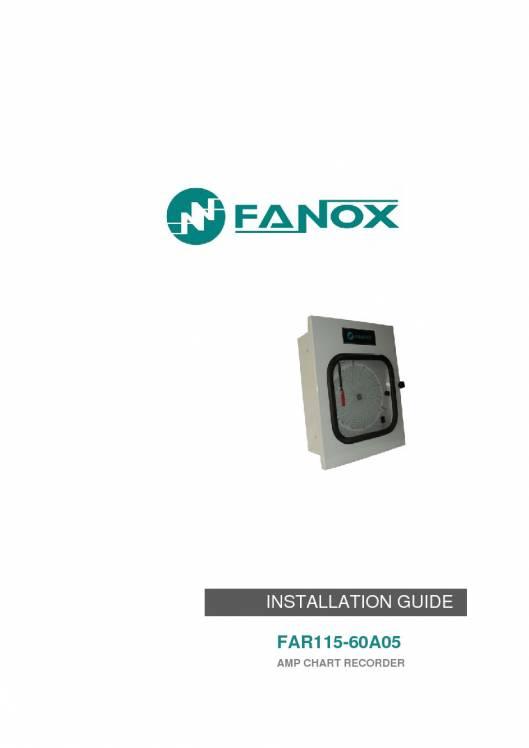 FAR115-60A05. Installation guide. 1