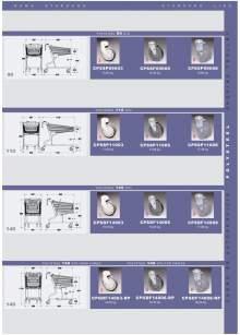 Ficha técnica de carros polysteel 160L Gran carga MARSANZ