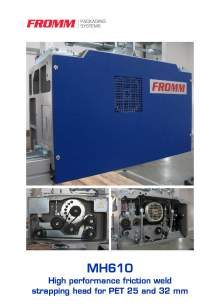 FROMM MH 610. Strapping head modular.