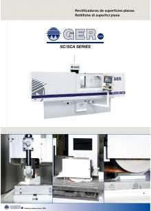 GER SC-SCA. Rectificadoras de superficies planas