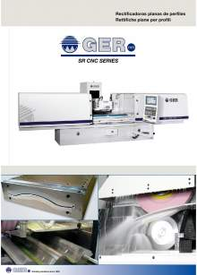 GER SR-CNC. Rectificadoras planas de perfiles