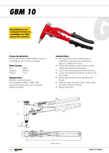 GESIPA.Remachadoras-Manuales-Tuercas-Remachables