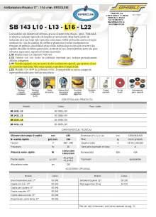 """HIPERCLIM. GIBLI. Abrillantadora-Rotativa 17"""" - 154 v/min. ERGOLINE"""