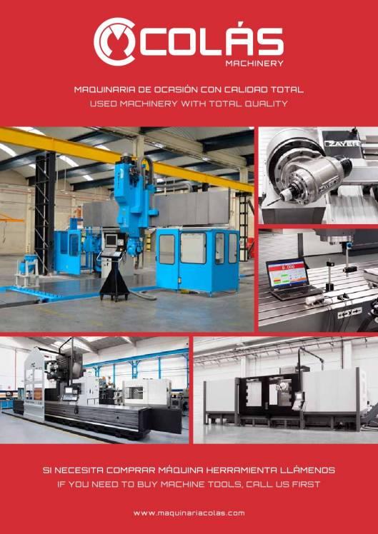 MAQUINARIA COLÁS. Maquinaria Industrial Ocasión Noviembre 2015 1
