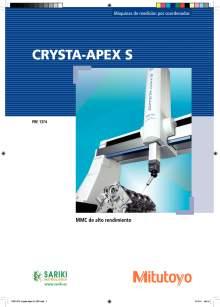 MITUTOYO Crysta Apex S. Máquina de medición por coordenadas