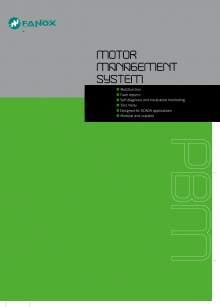 Motor Management System PBM Catalogue FANOX