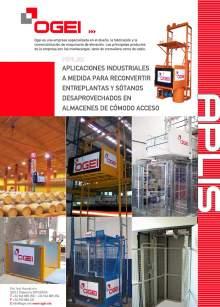 OGEI Montacargas a medida para aplicaciones industriales