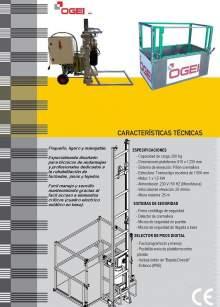 OGEI OC-200_2. Características técnicas