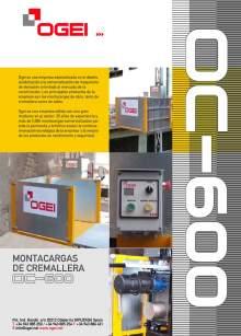 OGEI OC-600. Características técnicas