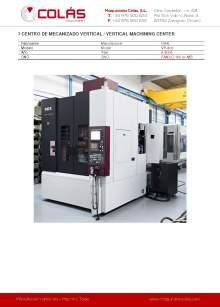 OKK VP-400. Centro de mecanizado vertical