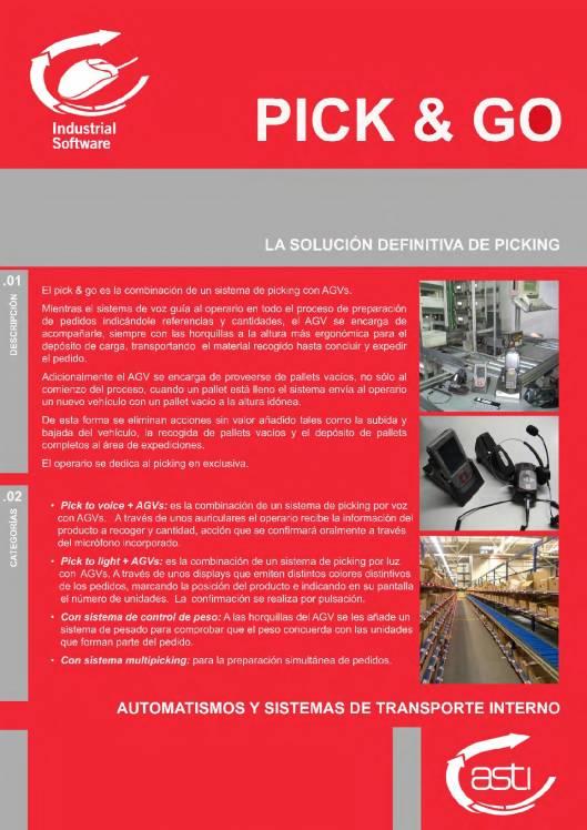 PICK & GO Sistema de picking con AGV 1