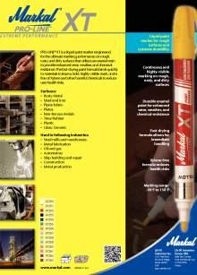 PROLINE XT. Rotulador industrial de marcaje para superficies rugosas.