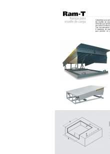 Ram-T. Mesa elevadora para muelle de carga.