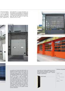 Secflex. Puerta seccional industrial.