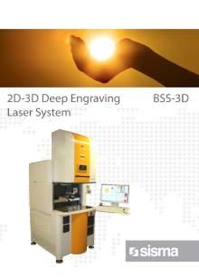 SISMA LASER. BSS-3D. Marcadora láser industrial