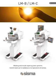 SISMA LASER. LM-B-LM-C. Máquina de soldadura laser de sobremesa