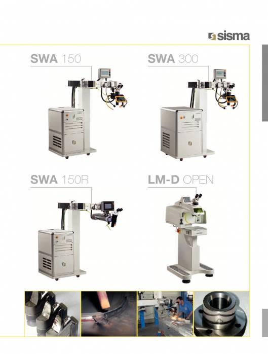 SISMA LASERT. swa-lm-d-open. Máquina de soldadura laser 1
