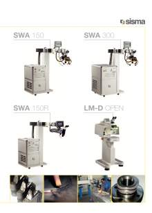 SISMA LASERT. swa-lm-d-open. Máquina de soldadura laser