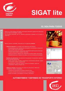 Software de gestión de almacenes SIGAT