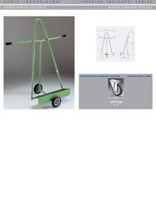 Specifications of Board-carrier trolley MARSANZ.