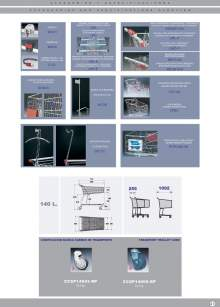 """Specifications of CASH&CARRY """" Transport trolley MARSANZ."""