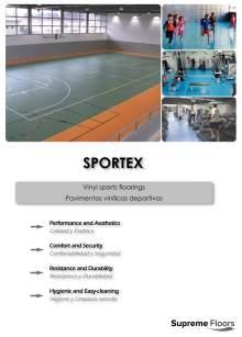 SPORTEX. Pavimentos vinílicos deportivos.
