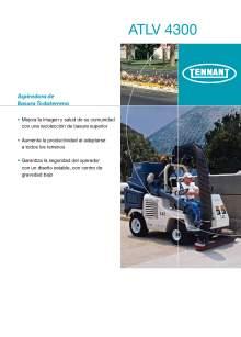TENNANT ATLV 4300 Aspiradora de basura todo terreno