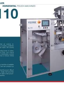 VOLPAK  SL-110. Envasadora de envase flexible