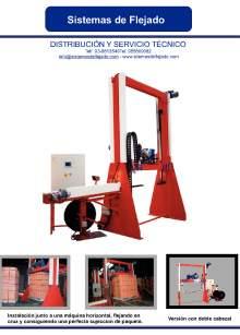 XIFRE SM-P. Flejadora automática